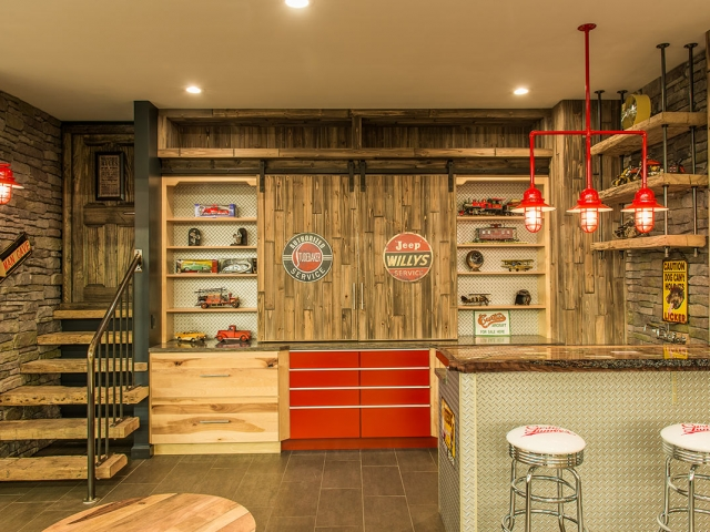 Curtis Lumber Showroom Man Cave
