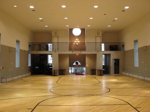 Church hall in Saratoga County