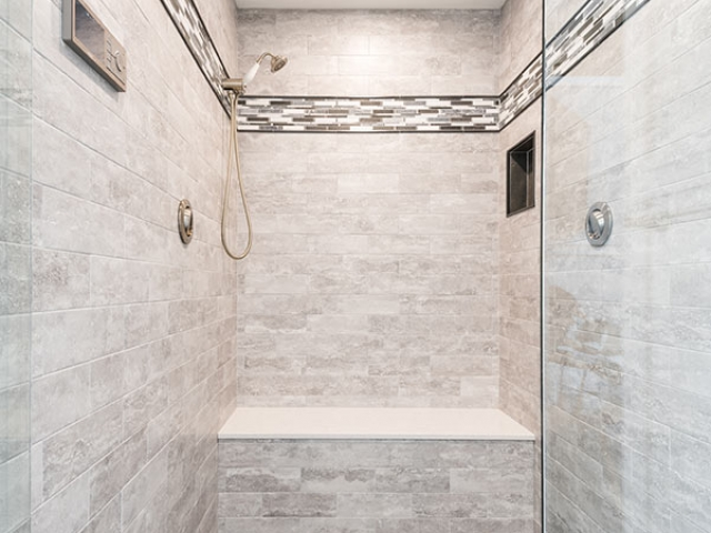 Master shower, Rensselaer County, NY